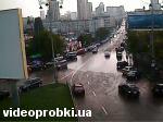 Vokzalna square, Kominternu street