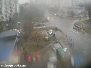 перекресток ул. Полярная и ул. Бережанская