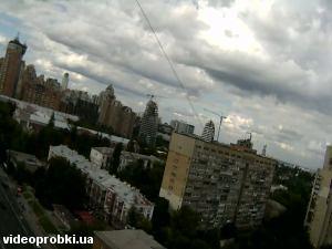 Печерский мост, улица Бастионная, улица Киквидзе