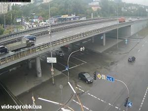 развязка Столичного шоссе и проспекта Науки