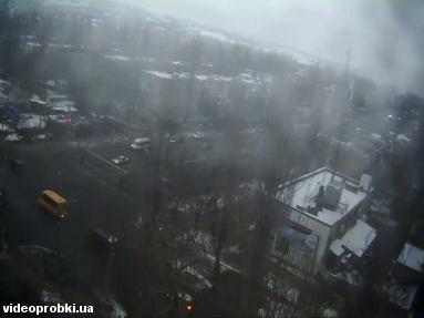 перекресток просп. 200-летия Кривого Рога и ул. Коротченко