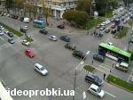 перехрестя проспекту Леніна і вулиці Новгородської