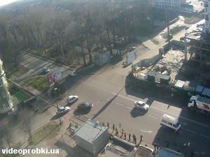 перекресток ул. Шевченко и ул. Томашевская
