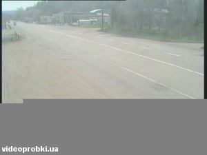 автомагістраль M-03 «Харків-Ростов» на околиці м. Слов`янська