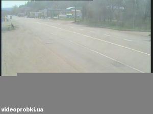 автомагистраль M-03 «Харьков-Ростов» на окраине г. Славянска